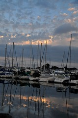 San Diego CA 08-20-14-90 (Christopher Stuba) Tags: boats california clouds morning sandiego sky water