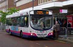 FirstNorwich 66959 - WX55TZW (Zak (Norwich Bus Page)) Tags: yellowline 2014 66959 wx55tzw volvob7rlewrighteclipseurban firstnorwich routefec29a