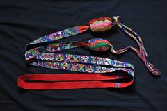 Guatemala Maya Hair Ribbon (Teyacapan) Tags: hair ribbons maya textiles cinta guatemalan weavings tejidos totonicapan