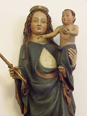 Madonna with Child, around 1400, detail (DeBeer) Tags: sculpture art statue museum museumofart catholic child sacral madonna gothic mother krakow medieval christian maternity sacred virginmary middleages 14thcentury babyjesus madonnaandchild madonnawithchild malopolska ourlady 15thcentury 1400 christchild medievalart 1390s 1400s infantjesus gothicart lesserpoland gothicsculpture polishart polishsculpture 14thcenturysculpture beautifulstyle early15thcentury late14thcentury 14thcenturyart 15thcenturyart 15thcenturysculpture