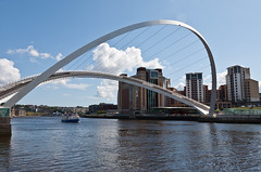 Millennium Bridge (ClydeHouse) Tags: baltic tyne millenniumbridge gateshead tynewear rivertyne byandrew balticcentreforcontemporaryart