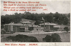 Third Western Hospital, Neath (robmcrorie) Tags: world history hospital war military first patient health national doctor nhs western third service british nurse ww1 healthcare neath cardif