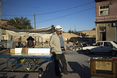 P9250110a (Nevi ahsna mnhasr) Tags: romans street streetphotography streetlife streetphoto streetphotos colors colorful hat konya turkiye blue outside sky city people