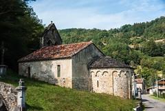 Soueix-Rogalle (Arige) (PierreG_09) Tags: saintsernin soueix soueixrogalle arige pyrnes pirineos couserans clocher glise chapelle roman romanico