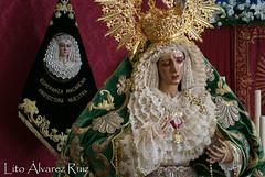 Besamanos - Virgen del Amor - Octubre 2016 (Manuel Francisco lvarez Ruiz) Tags: besamano virgen nuestra seora mara santsima reina madre barrio semana santa sevilla visperas lito fotografas cultos iglesia parroquia