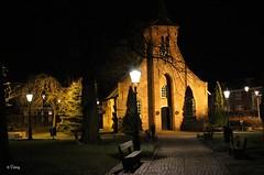Tilburg: Hasselt Chapel ( Corry ) Tags: historic chapel night