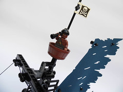 LEGO-Darkevil-07 (Sweeney Todd, the Lego) Tags: lego pirate pirateship zombie zombies ship boat pirates dead darkevil jack sparrow spooky