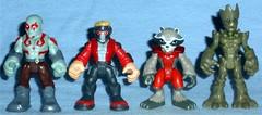 Playskool Heroes - Guardians of the Galaxy (Darth Ray) Tags: hasbro playskool heroes marvels guardians galaxy guardiansofthegalaxy drax starlord rocketraccoon groot star lord rocket raccoon