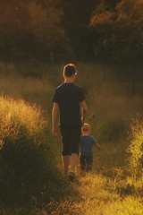 Guardian Angel for me. (Xsinma) Tags: kid guardian sunset light care safe family chill protect warm baby summer