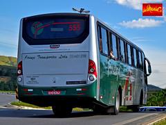Firenze Transportes 555 (busManíaCo) Tags: busmaníaco nikond3100 rodoviário rodoviáriadotietê ônibus bus red green yellow grey black white orange sky caio solar mercedesbenz of1721 bluetec 5