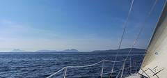 Illas Ces vistas desde el velero Bosch (jcfasero) Tags: cies islas island mar sea outdoor seascape landscape blue lg g5 vigo ria pontevedra galicia galiza espaa spain tourist