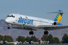 DSC_5026Pwm (T.O. Images) Tags: n410nv allegiant airlines mcdonnell douglas md80 las vegas mccarran international airport