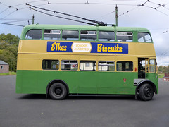 Electric Trolley Bus (avesinc54) Tags: black country museum canal trust dudley peaky blinders bus trolly double dekker caverns barges canals