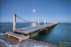 Narrabeen Tidal Pool, NSW @ Austalia (Luis Marquez S.) Tags: luismarquezsalazar narrabeen nsw australia water moon longexposure coastallandscape seascape