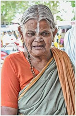 """""""To keep the heart unwrinkled, to be hopeful, kindly, cheerful, reverent - that is to triumph over old age."""" (Ramalakshmi Rajan) Tags: old oldage elderly nikond5000 nikon nikkor18140mm people portrait potraits candid tamilnadu india indians woman indianwoman lifeinindia"""