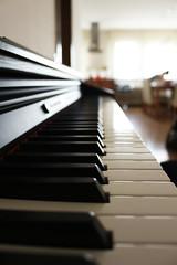 Life is like a piano... (JPetrovi) Tags: piano keyboard music keys black white sadness happiness