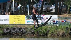 20160903_132147_DSC_5848 (seiichi_sugano) Tags: waterski waterskiing watersports water championship collegiate jccw jump trial ob oogata akita japan   og