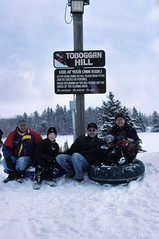 PEI - 2001 (190-39) (MacClure) Tags: canada pei princeedwardisland family millriver snow deanna shane andrew patty lindsay jason