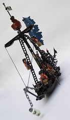 LEGO-Darkevil-16 (Sweeney Todd, the Lego) Tags: lego pirate pirateship zombie zombies ship boat pirates dead darkevil jack sparrow spooky