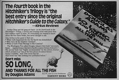 Magazine add for book 4 (John Chanaud) Tags: thehitchhikersguidetothegalaxy solongandthanksforallthefish