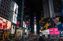 Times Square (Ghaith Farkouh) Tags: times square nyc new york city night light nikon d5100
