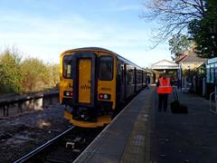 150248 Bere Alston (Marky7890) Tags: 150248 2p89 berealston class150 gwr railway sprinter station tamarvalleyline train