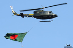 BH169: BGB Bell 212. (Samee55) Tags: baf bgb bell 212 twin huey helicopter dhaka 2016