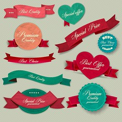 content(9).jpg (bailinhofesta) Tags: ribbon banner vector label sticker icon price retro sign symbol premium sale design emblem isolated greeting mark red business buyer holiday template insurance discount old bestseller satisfaction card bow best insignia warranty coupon illustration certificate high text badge tape quality invitation heart vintage menu genuine background trade superior guarantee customer