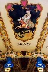 ... El recargado mundo del modernismo ... (Lanpernas 4.0) Tags: modernismo impresionismo carrousel sirenas alderdieder donostia belleepoque arte pintura copiabarata ilustracin tiovivo