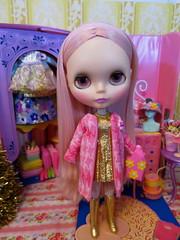 Meet my new pink Kenner Princess!