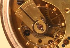 Pocket Watch_Mechanism_Earlsdon_Coventry_Nov16 (Ian Halsey) Tags: pocketwatch watchmechanism watchinnards insideawatch takethebackoff flickriver flickr:user=ianhalsey copyright:owner=ianhalsey ticktock exif:model=canoneos7d