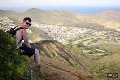 Koko Head Hike Trail (misslalovely) Tags: people mountain hiking fotobyz kokohead oahu hawaii
