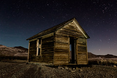 Rhyolite-109.jpg (Travis Fike) Tags: lightpainting night landscape outdoors starpoints deathvalley architecture environment wideangle stars longexposure rhyolite