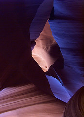 Mo' Blues (Leia Landrock) Tags: pagearizona antelopecanyon slotcanyon lowercanyon lowerantelopecanyon