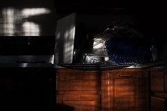 the morning after thanksgiving (johngpt) Tags: fujifilmxt1 fujinonxf55200mmf3548rlmois morninglight places kitchen