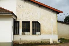 N7 ESSO + Texaco in St.Martin d'Estreaux 17.9.2016 4263 (orangevolvobusdriver4u) Tags: rn7 route national 7 routenational7 routebleue 2016 archiv2016 france frankreich n7 stmartindestreaux tankstelle gasstation texaco ads ghostads oldads ghostsign reklame rhonealpes