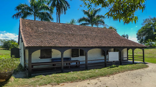 Gunpowder house of Fort Nieuw Amsterdam in Suriname