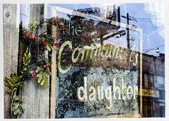the communist's daughter (swanksalot) Tags: toronto sign handmade handlettered storefront dundas communist daughter