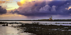 Coquille River Lighthouse (Manuela Durson) Tags: coquille river lighthouse bandon oregon southernoregon coast coastline ocean art pacific sunset over water purple clouds cloudscape dramatic scenic landscape panorama nature fine