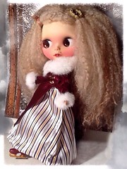 Flickr Advent Group; and December Blythe-a-Day#3: Miss Havisham Has Moments of Happiness...Without Her Fiancé