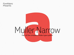 Download Mueller Narrow: 4 Free font styles (vectorarea) Tags: fonts freefontsprint sansserif