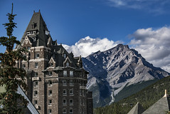 Fairmont Hot Springs and Cascade Mountain - Banff, Alberta Canada (Charles Davis Smith - AIA   Photographer) Tags: fairmonthotspringsandcascademountainbanff albertacanada banffnationalparkalberta canada nationalparkscanada canadianrockymountains historichotels fairmonthotel bruceprincearchitect latevictorianarchitecture fineartphotography dallastexasarchitecturalphotographers charlesdavissmithphotographer charlesdavissmithaiaphotographer chucksmith dallasarchitecturalphotographers texasphotographers texasarchitecturalphotographer texasarchitecturalphotography banff alberta