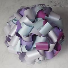 Eternity (K16056) (Origami Spirals) Tags: curler paper fold twirl origami burczyk folding art krysbur