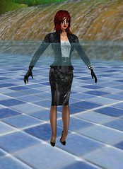Waterpark 2 (SoakinJo) Tags: imvu wetlook wetclothes soakinjo highheels wetsuit clothed pool