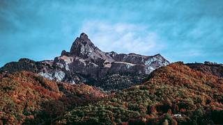 L'Aiguille de Varan, Massif du Giffre
