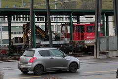 SOB Südostbahn Robel  234 50x mit Taufname Sittertobel Viadukt ( Hersteller Robel - Baujahr 2015 - Bahndiensttraktor Traktor Baudienst Unterhalt ) am Bahnhof Herisau im Kanton Appenzell Ausserrhoden der Schweiz (chrchr_75) Tags: albumzzz201612dezember christoph hurni chriguhurni chrchr75 chriguhurnibluemailch dezember 2016 bahn eisenbahn schweizer bahnen zug train treno albumbahnenderschweiz2016712 albumbahnenderschweiz schweiz suisse switzerland svizzera suissa swiss sbb cff ffs bahndiensttraktor traktor tm 234