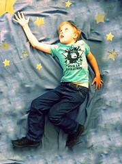 to catch a star... / Viva La Evolution reedit (slightly everything) Tags: uk light boy england sky childhood one star flying europe jacob son evolution realpeople spacephoto slightlyeverything katehiscock