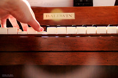 White Keys (chasingtimemedia) Tags: summer music white playing black keys relax iso3200 key hand singing song relaxing piano f45 musical listening cover instrument 18 sheetmusic baldwin instrumental metronome 37mm