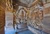 India - Karnataka - Badami Caves - Sitting Vishnu And Varaha - 82 (asienman) Tags: india karnataka badami caves chalukyas architecture vatapi asienmanphotography sittingvishnu varaha