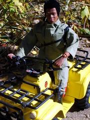 Adventure Team 4x4 (atjoe1972) Tags: scale vintage gijoe actionfigure 4x4 retro 1970s custom sixth 16th 12inch hasbro adventurer fuzzhead adventureteam kfg magicdonkey at thecorps seaadventurer atjoe1972